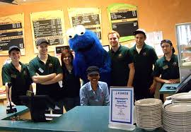 gallery 1 pizza gallerie staff with cookie monster jpg