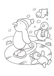 Schaatsende Pinguinsgif 16542339 Zima Winter Crafts For Kids
