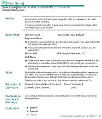 example resume for someone with no job experience tour guide resume