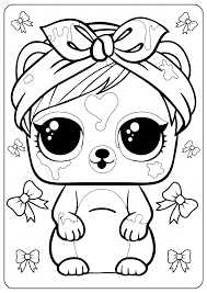 We have a large collection of various lol surprise dolls for your little ones. Free Printable Lol Surprise Coloring Pages
