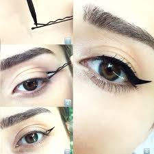 eyeliner makeup makeuptips haircare pretty tips clean simple