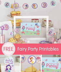 Free Fairy Invitations Printables
