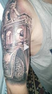 My First Tattoo Gladiator Done By Andre Filla 10 Volt Coventry Uk