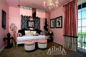 E Little Girl Bedroom Ideas Black And Pink