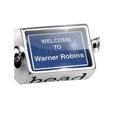 Walmart Warner Robins Bead Sign Welcome To Warner Robins Charm Fits All European Bracelets