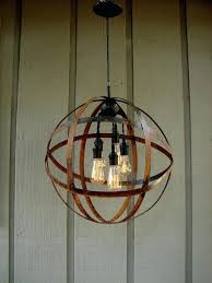 chandelier with edison bulbs are too cool canada