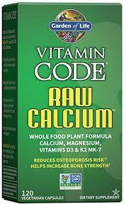 Garden of Life Vitamin Code Raw Calcium with ... - Amazon.com
