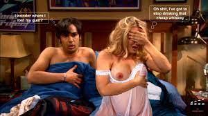Girl from big bang theory naked