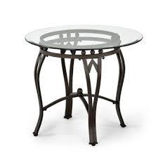 madrid glasetal end table