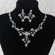 diamond pendant earring set indian whole green jade necklace bracelet earring set