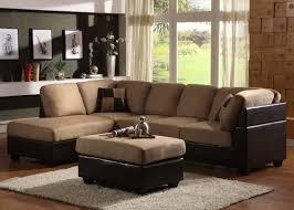 Microfiber Living Room Furniture Furniture Elegant Living Room Sofas Design With Comfortable