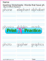 Progressive phonics allinone reading program with free phonics books and free alphabet books. 44 Phonics Worksheets Practice Phonics Words Copywork