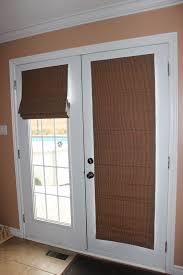 roman blind style for sliding french door
