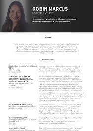 Facilitator Resume Samples And Templates Visualcv
