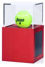 golf ball display case tennis ball display case cabinet holder rack aluminum 6 golf ball display
