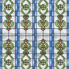 alkor sticky back plastic stained glass effect window church 45cm x 1m