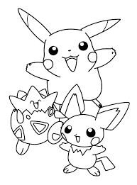 Pokemon Free To Color For Kids All Pokemon Coloring Pages Kids