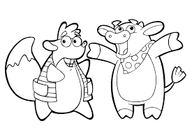 Small Picture Dora coloring pages overview with all kind of free Dora sheets