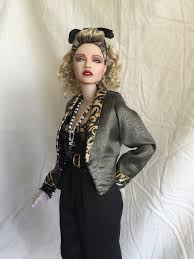 Madonna doll Desperately Seeking Susan made by the extremely.