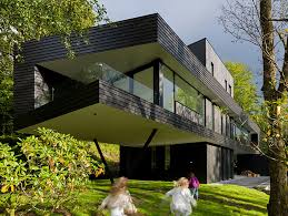 Architect Todd Saunders Family Home Cantilevers With Swing Set Cantilever  Homes