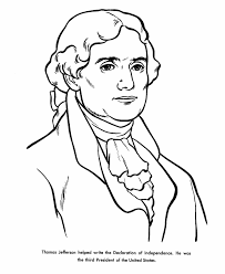 Thomas Jefferson Coloring Pages#300447