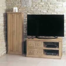 mobel oak wall rack cor07b. IN STOCK FREE DELIVERY COR09A Baumhaus Mobel Oak Four Drawer Television Cabinet Wall Rack Cor07b