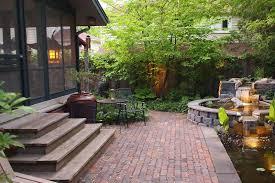 patio stepping stones brick patio ideas how to lay paving stones