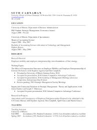 academic resume anuvrat info academic resume resume cv template examples
