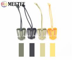 Meetee 10PCS Four Colors <b>Outdoor Tactical Nylon Webbing</b> ...