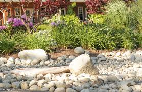 Small Picture Landscaping with River Rock Dry River Rock Garden Ideas The