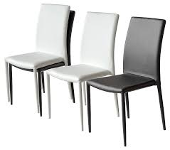 impressive contemporary leather dining chairs brilliant creative of modern throughout white modern dining chairs ordinary