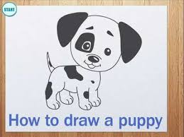 Small Picture How to draw a puppy YouTube