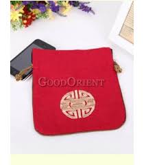 Redcoin Chart Classical Chinese Red Coin Bag Goodorient