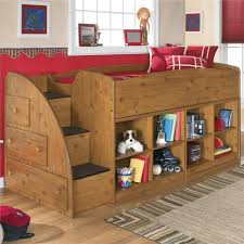 Bedroom Awesome Style Wooden Furniture For Space Saving Is Twin Loft Bed  Escorted By Left Storage