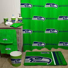 nfl seattle seahawks decorative bath collection shower curtain com