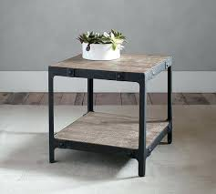 pottery barn end tables evelyn round table coffee furniture quality
