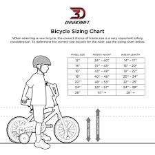Bike Wheel Size Chart