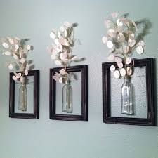 string vintage bottles to picture frames to create a hanging garden  on wall art old picture frames with 18 clever ways to reuse old picture frames