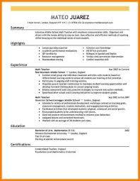 Format Of Teacher Resume 100 teacher resume format Resume Cover Note 65