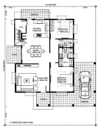 House Designs Floor Plans 3 Bedrooms Madrigal 3 Bedroom Home Plan Pinoy House Designs Pinoy