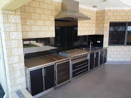 Alfresco Outdoor Kitchens Infresco Install A Range Of Splashbacks To Add The Final Touch To