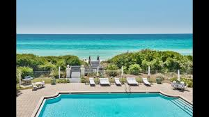 exclusive beachfront home in santa rosa beach florida