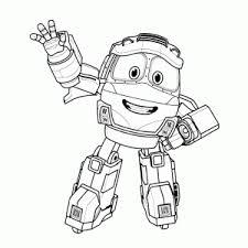 Robot Trains Kleurplaten Leuk Voor Kids