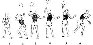 Подачи в волейболе техника виды описание Верхняя прямая подача в волейболе