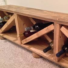 image of wooden crate bench storage