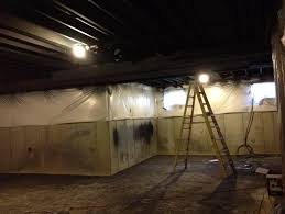 Paint Basement Ceiling White Or Black Home Design Ideas - Painted basement ceiling ideas