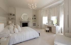 decorative chandeliers for bedrooms and white simple curtains