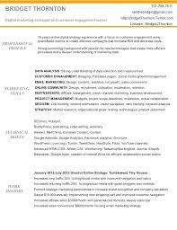Market Specialist Sample Resume Podarki Co