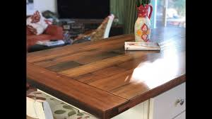 Making A Farmhouse Table And Island With Rustic Reclaimed Redwood