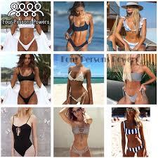 Four Persons Powers <b>Swimwear Bikini 2016 Summer</b> Sexy ...